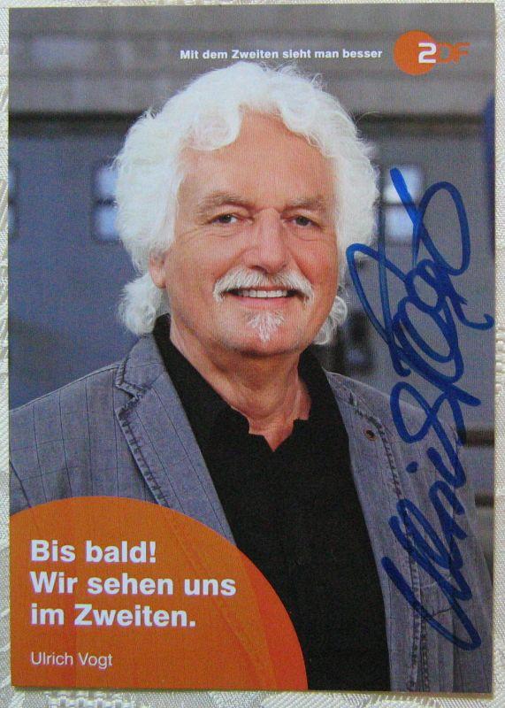 Autogramm Karte Ulrich Vogt ZDFKaputt und ...zugenäht!