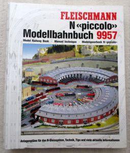 Fleischmann piccolo 9957 Modellbahnbuch N Gleispläne Ratgeber Tip(p)s 1990