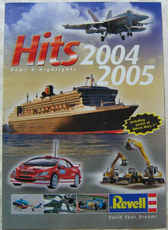 Revell Hits 2004 2005 Poster Queen Mary 2