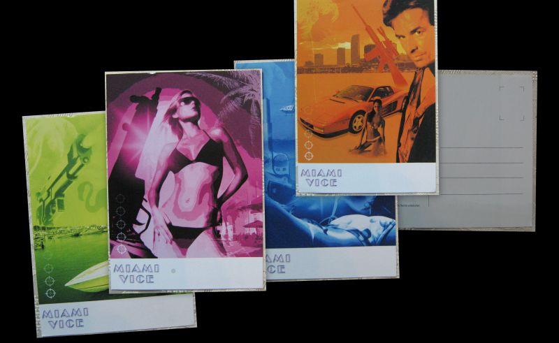 Konvolut AK Miami Vice Kult TV Serie