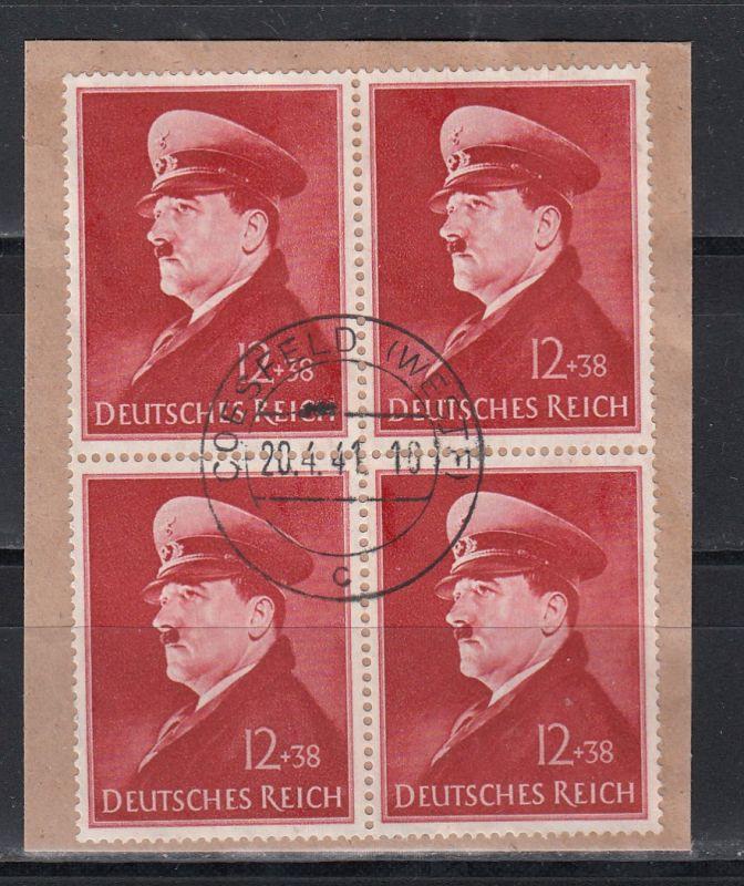 Deutsches Reich MiNo. 772x Bs 4er-Block o (16.-)