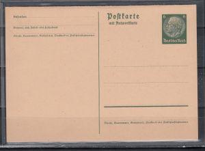 Dt.Reich Ganzsachen-Doppelkarte MiNo. P 229I **