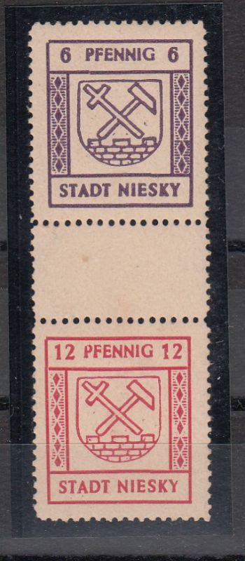 Lokalausgabe Stadt Niesky MiNo. SZd 7 ** (25.-)