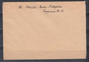 Berlin MiNo. 120a Einzelfrankatur Fernbrief Berlin 1954 gpr Schlegel BPP (100.-)