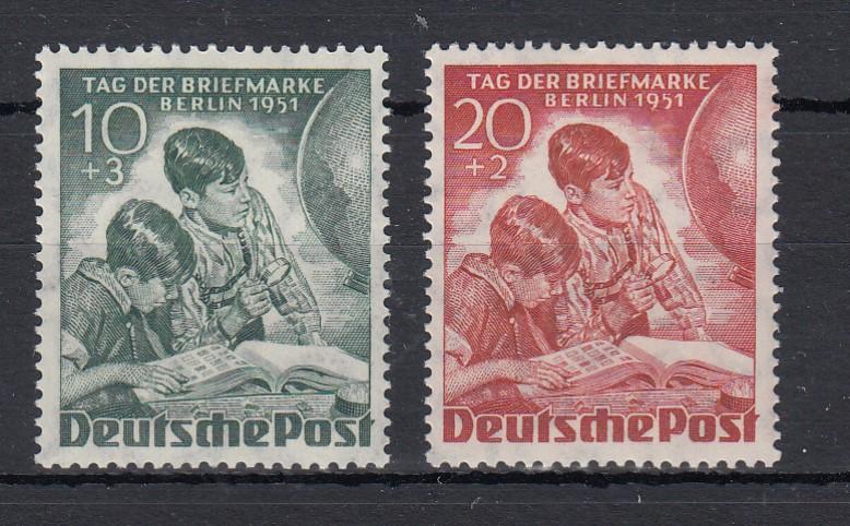 Berlin 1951 MiNo. 80/81 ** (55.-)