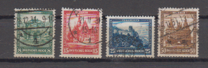 Dt.Reich Nothilfe 1931 MiNo. 459/62 o (140.-)