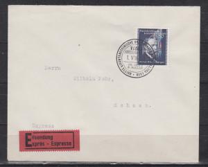Liechtenstein Expressbrief Vaduz 1.VII.38 nach Schaan mit 1x 170