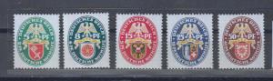Dt.Reich MiNo. 430/34 ** (240.-)