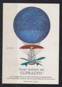 Bund MiNo. 447 auf Ballonpostkarte Wahlwies 1964
