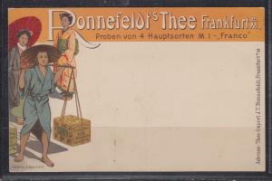 Dt.Reich Privatganzsache MiNo. PP 27B31/05 ** Reklame Ronnefeldt´s Tee