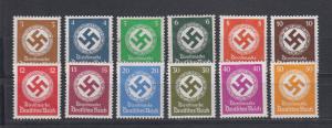 Dt.Reich Behördendienstmarken MiNo. D 132/43 **