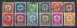 Dt.Reich Behördendienstmarken MiNo. D 132/43 o (40.-)