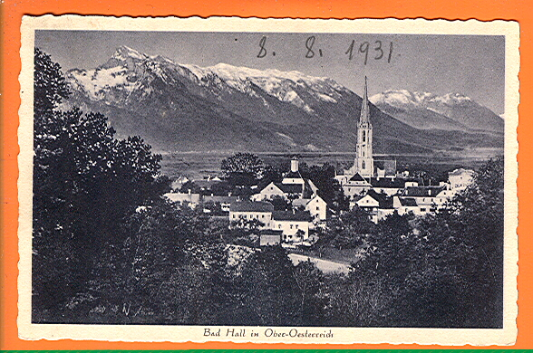 Alte Ansichtskarte/AK/Postkarte: Bad Hall in Ober-Oesterreich