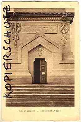 Alte Ansichtskarte/AK/Postkarte: N. D. de Lorette - L'Entrée de la tour