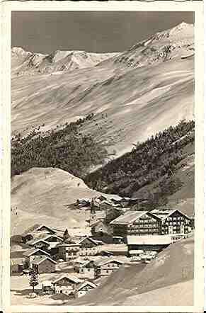 Alte Ansichtskarte/AK/Postkarte: Ski- u. Sonnenparadies Ober-Gurgl