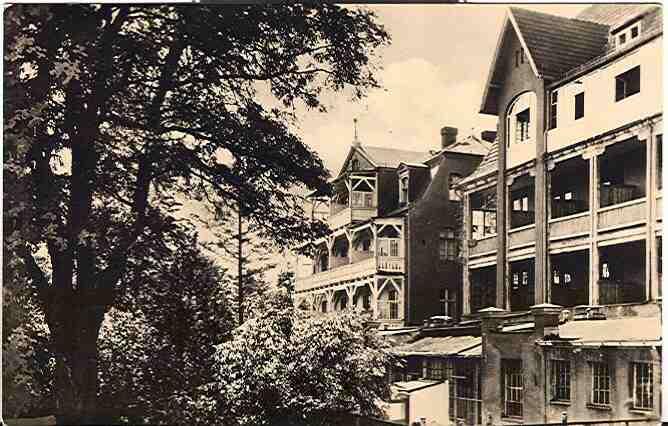 Alte Ansichtskarte/AK/Postkarte: Woltersdorf b. Erkner - Haus Gottesfriede