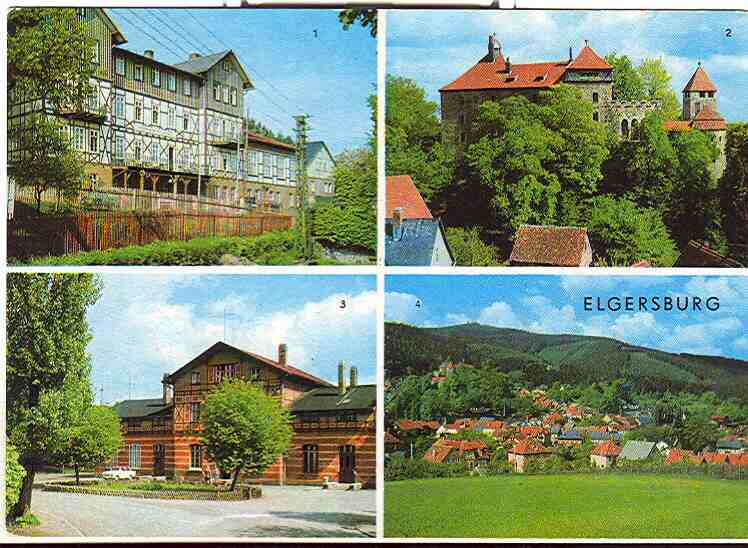 Alte Ansichtskarte/AK/Postkarte: Elgersburg