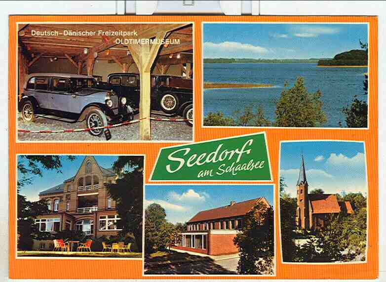 Alte Ansichtskarte/AK/Postkarte: Seedorf am Schaalsee