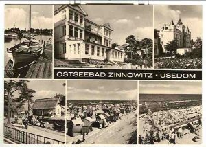 Alte Ansichtskarte/AK/Postkarte: Ostseebad Zinnowitz - Usedom