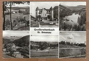 Alte Ansichtskarte/AK/Postkarte: Großbreitenbach Kr. Ilmenau