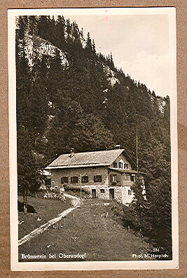 Alte Ansichtskarte/AK/Postkarte: Brünnstein bei Oberaudorf