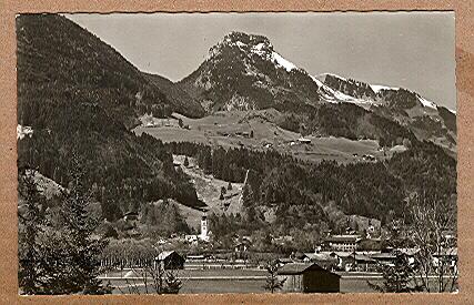 Alte Ansichtskarte/AK/Postkarte: Kurort Oberaudorf mit Brünnstein