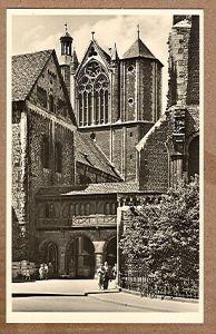 Alte Ansichtskarte/AK/Postkarte: Braunschweig Dom St. Blasius