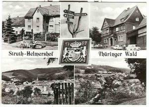 Alte Ansichtskarte/AK/Postkarte: Struth-Helmershof, Thüringer Wald