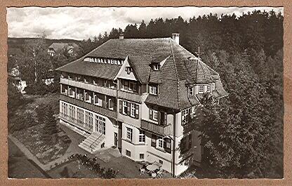 Alte Ansichtskarte/AK/Postkarte: Heilklimatischer Jahreskurort Königsfeld / Schwarzwald, Sonnenhaus