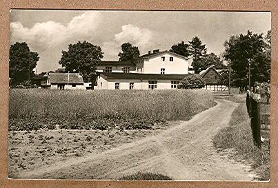 Alte Ansichtskarte/AK/Postkarte: Korswandt (Usedom) - Kinderferienlager des VEB Minol
