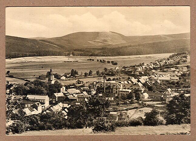 Alte Ansichtskarte/AK/Postkarte: Tambach-Dietharz (Thür. Wald) - Blick vom Gänseköpfchen auf Tambach