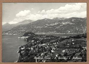 Alte Ansichtskarte/AK/Postkarte: Lago di Como - S. Giovanni e Bellagio