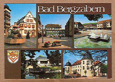 Alte Ansichtskarte/AK/Postkarte: Bad Bergzabern an der Weinstraße