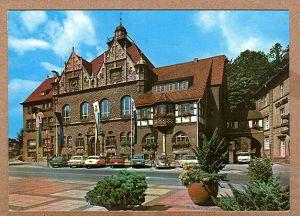 Alte Ansichtskarte/AK/Postkarte: Stadt Bergisch Gladbach, Rathaus