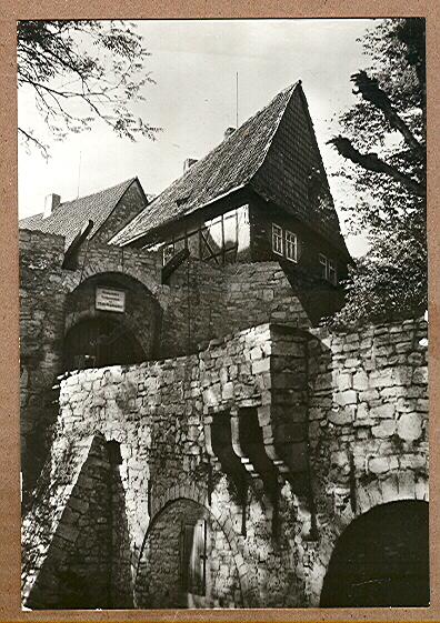 """Alte Ansichtskarte/AK/Postkarte: """"Schloß Bodenstein (Kr. Worbis)"""", Leinefelde-Worbis"""