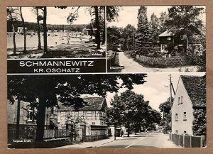 Alte Ansichtskarte/AK/Postkarte: Schmannewitz, Kr. Oschatz
