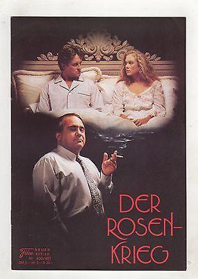 NFK Neuer Filmkurier 400/401 DER ROSEN-KRIEG 1990 0