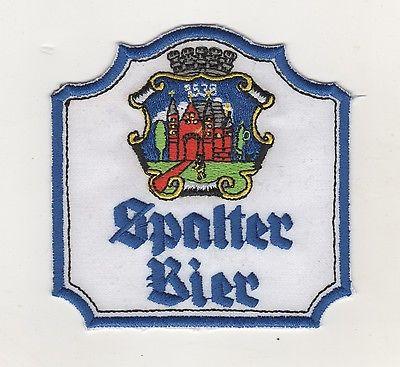 Stoff Aufnäher Brauerei Spalt Spalter Bier