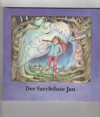DER FURCHTLOSE JAN Kinderbuch Jugendbuch DDR 1990 Sorbisches Märchen