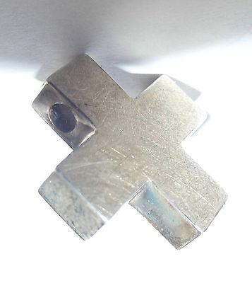 Anhänger 925er Silber Kreuz Goldschmiedearbeit Juweliernachlass ungetragen