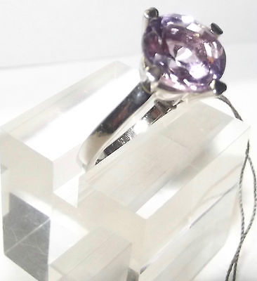 Wunderschöner Amethyst Ring 925er Silber aus Juweliernachlass ungetragen