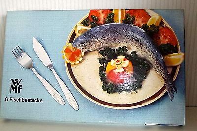 WMF Fischbesteck 6 Fischbestecke ungebraucht in OVP