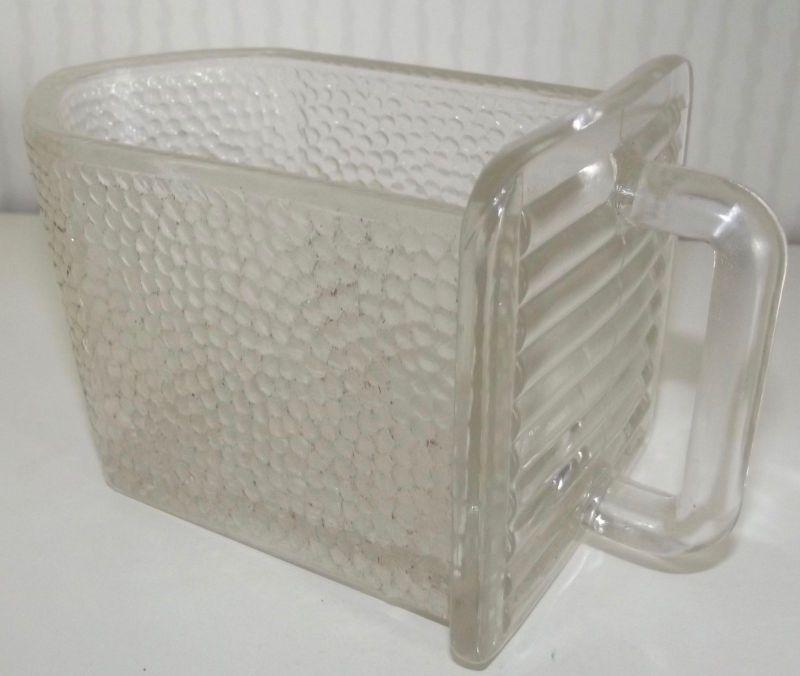 Glasschütte Schütte Vorratsgefäss Pressglas für Küchenschrank Gewürze