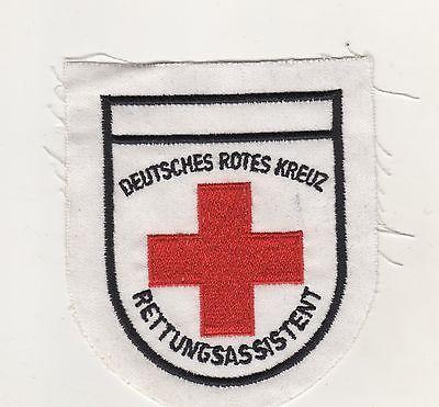 Original Aufnäher Patch Deutsches Rotes Kreuz Rettungsassistent