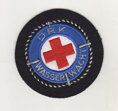 Original Aufnäher Patch DRK Rotes Kreuz Wasserwacht