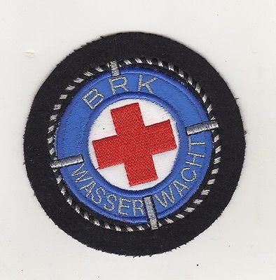 Original Aufnäher Patch BRK Rotes Kreuz Wasserwacht