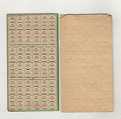 1 Palette antike Knöpfe Klar Durchsichtig 72 Stück 18 mm