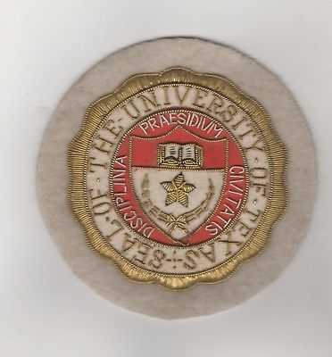 Alter Aufnäher Patches The University of Texas Badge