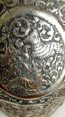 Ungewöhnliche Kupfer Karaffe Wasserkanne wohl Asien 40 cm hoch 4