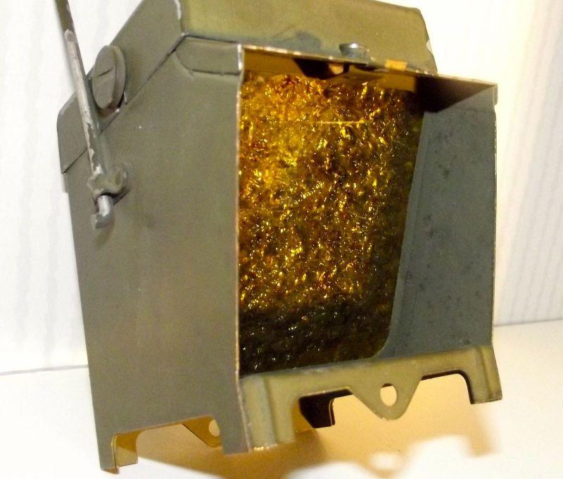 US-Army Unbekannte Ausrüstung wohl eine Lampe  vermutlich WK2 - WW2 USA